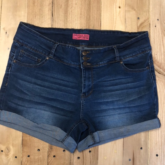 2aa12ad2750 Wax Jean Shorts   Butt I Love You Plus Size   Poshmark